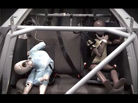 Britax crash test shows dangers of booster seats