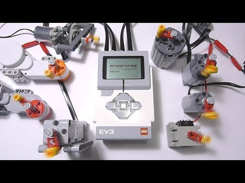 Vidéo LEGO Power Functions 88004 : Servomoteur Power Functions