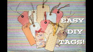 How To Make Your Own Tags | Quick & Easy DIY