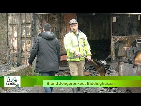 VIDEO | Jongeren Biddinghuizen hopen dat er snel een nieuwe keet komt