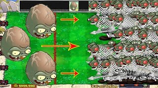 Plants vs Halloween Hack Wall-nut Bowling vs Giga-gargantuar vs Dr. Zomboss