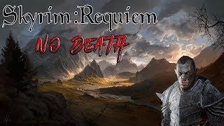 Skyrim - Requiem (без смертей, макс сложность) Орк-Барин  #2 Хп много не бывает