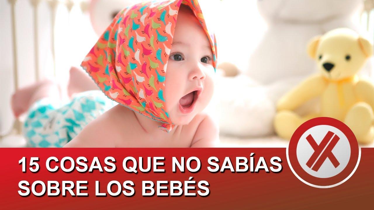 15 cosas que no sabías sobre los bebés