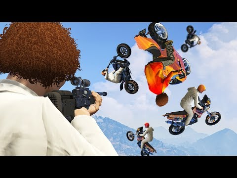 1 SHOT 5 KILLS! (GTA 5 Funny Moments)
