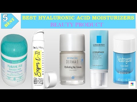 Top 5 Hyaluronic Acid Moisturizers In 2018 | Best 5 Hyaluronic Moisturizers Review By Elegant Mart