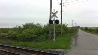 CP train 246 Toronto - Buffalo pulling past Vinemount siding, Hamilton Sub