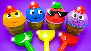 Learn Colors for Children, Toddlers, Preschool Baby with Toys and Songs