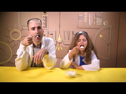 ניסוי מדעי מתוק לילדים: הכנת גלידה ב-10 דקות בעזרת מלח