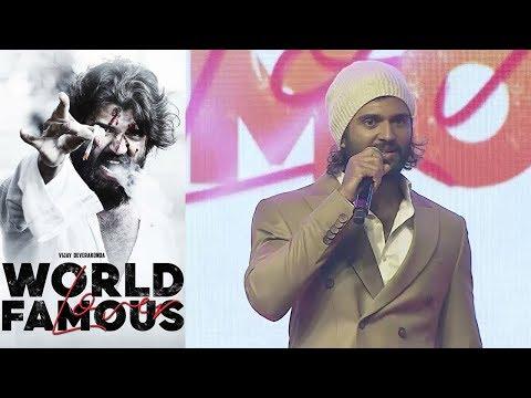 Vijay Deverakonda at World Famous Lover Pre Release Event