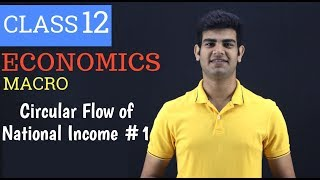 circular flow of income macroeconomics - class 12