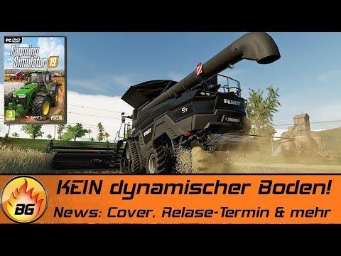 KEIN dynamischer Boden im LS19! | News: Cover, Release-Termin & mehr | FARMING SIMULATOR 19 [HD]