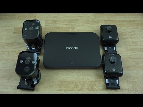 Zmodo ZM-KW1001-1TB 720p HD Smart Wireless Home Kit with 4 Indoor/Outdoor Cameras!