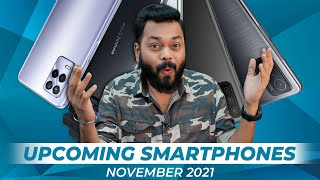 Top 10+ Best Upcoming Mobile Phone Launches ⚡ November 2021