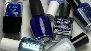 My Favorite Blue Nail Polishes