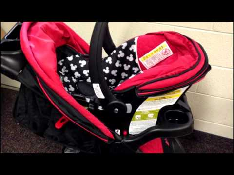 Review: Disney Baby Amble Quad Travel System – Baby Carrier, Car Seat,  and Stroller