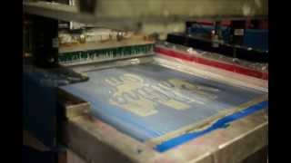 Screen Printing at Alive Inside in Las Vegas