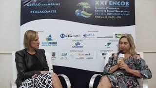 Bate papo com a diretora-presidente da ANA, Christianne Dias