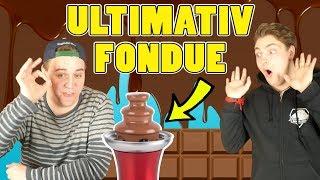 CHOKOLADE HIMMELEN! | Ultimativ Fondue #1