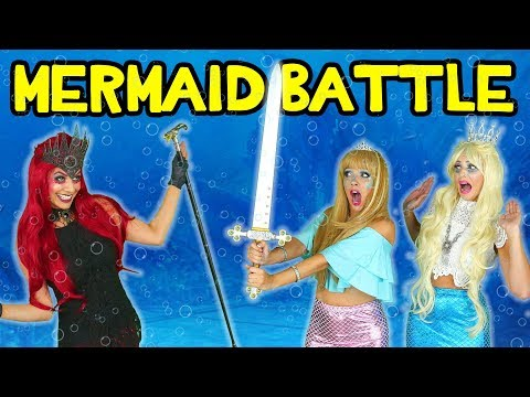 Mermaids vs. Sea Witch. Tails of the Blue Episode 2: Mermaid Squad Saves the Day. Totally TV