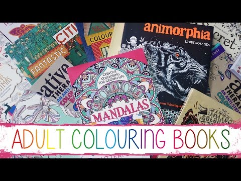 My Adult Colouring Book Collection Play