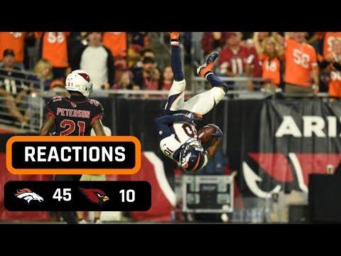 Denver Broncos vs Arizona Cardinals Week 7 Thursday Night Football Recap | VON MILLER DELIVERS!