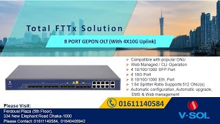 How to pass multiple vlan in VSOL EPON  OLT to ONU (T-031)