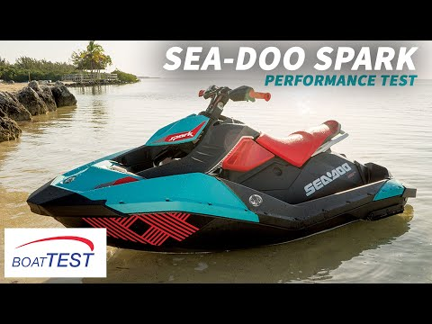 Sea-Doo Spark Test 2016- By BoatTest.com