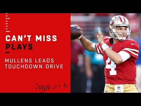 Nick Mullens Leads Perfect Opening TD Drive vs. Raiders!