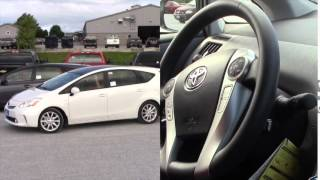 preview picture of video 'How to Use the Park Assist in the 2014 Toyota Prius V'