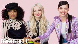 Descendants 2 Stars Compete in the Ultimate Disney Trivia Challenge | Teen Vogue