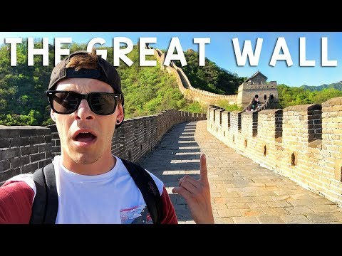 Almost Died Climbing The Great Wall of China | Travel Vlog