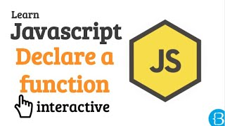 11 How to declare a function - Javascript Beginner Exercises Tutorial Interactive