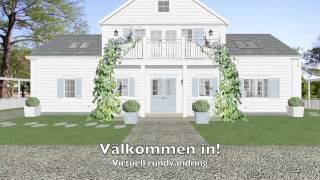 Strandhus i Båstad - virtuell genomgång. Arkitekt - Heidi Mikalsen, Dreams & Coffee