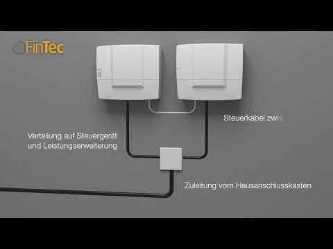 Anschluss einer elektrischen Saunasteuerung