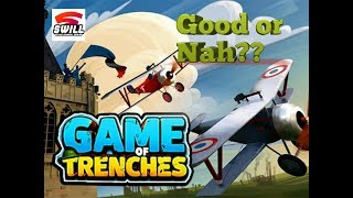 Game of Trenches: WW1 Strategy | Good or Nah??? (Android IOS)
