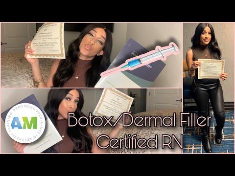 Botox & Dermal Filler Certification Review - YouTube