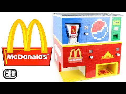 The Lego McDonald's Machine | Big Macs And Pepsi Mp3