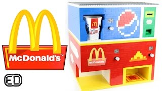 The Lego McDonald's Machine | Big Macs and Pepsi