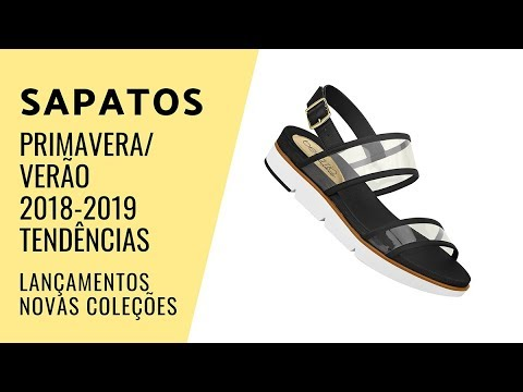 f835906c01d SAPATOS PRIMAVERA-VERÃO 2018 2019  Tendências