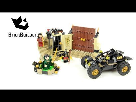 Vidéo LEGO DC Comics Super Heroes 76056 : Batman : le sauvetage de Ra's al Ghul