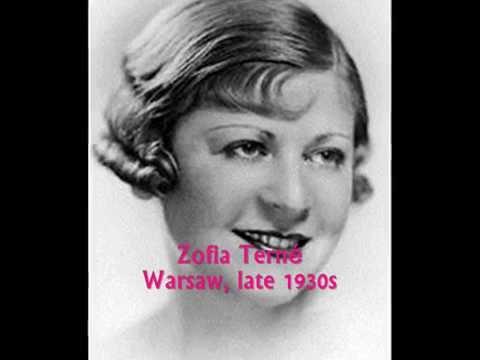 Polish Tango 1930: Zofia Terné - To pewno miłość (It Looks Like Love)