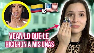 FUI A HACERME LAS UÑAS DE CARDI B (ESTADOS UNIDOS VS COLOMBIA) *no sé que pensar*