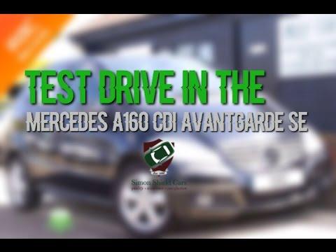 Road test on Mercedes A160 cdi Avantgarde SE