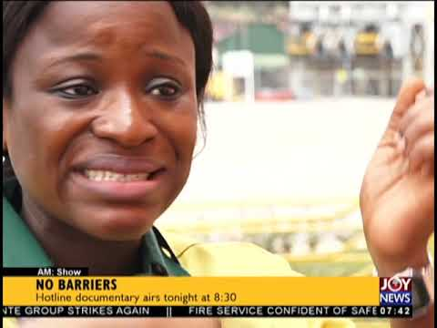 No Barriers - AM Show on JoyNews (8-10-18)