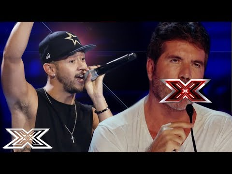 SHOCKINGLY OFFENSIVE AUDITIONS Have Simon Cowell In A Rage! | ANGRY JUDGES | X Factor Global (видео)