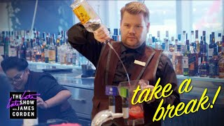 Take a Break - Virgin Atlantic Clubhouse - #LateLateLondon