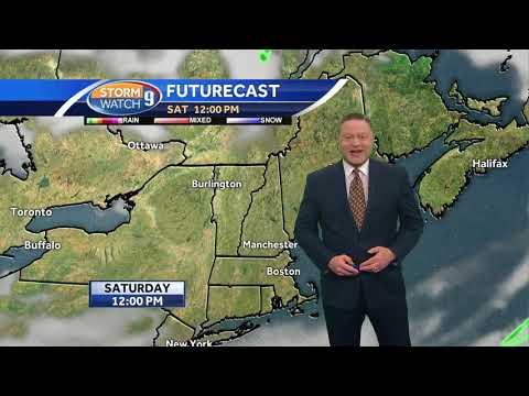 Bella Dog interrupts Josh Judge in live forecast