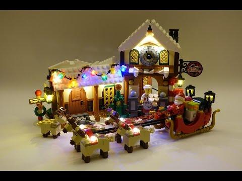 Vidéo LEGO Creator 10245 : L'atelier du Père Noël