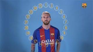 BARÇA EMOJIS: The squad define Leo Messi