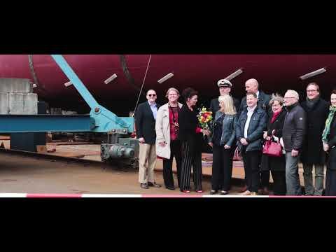 Christening and launch M/V Shetland